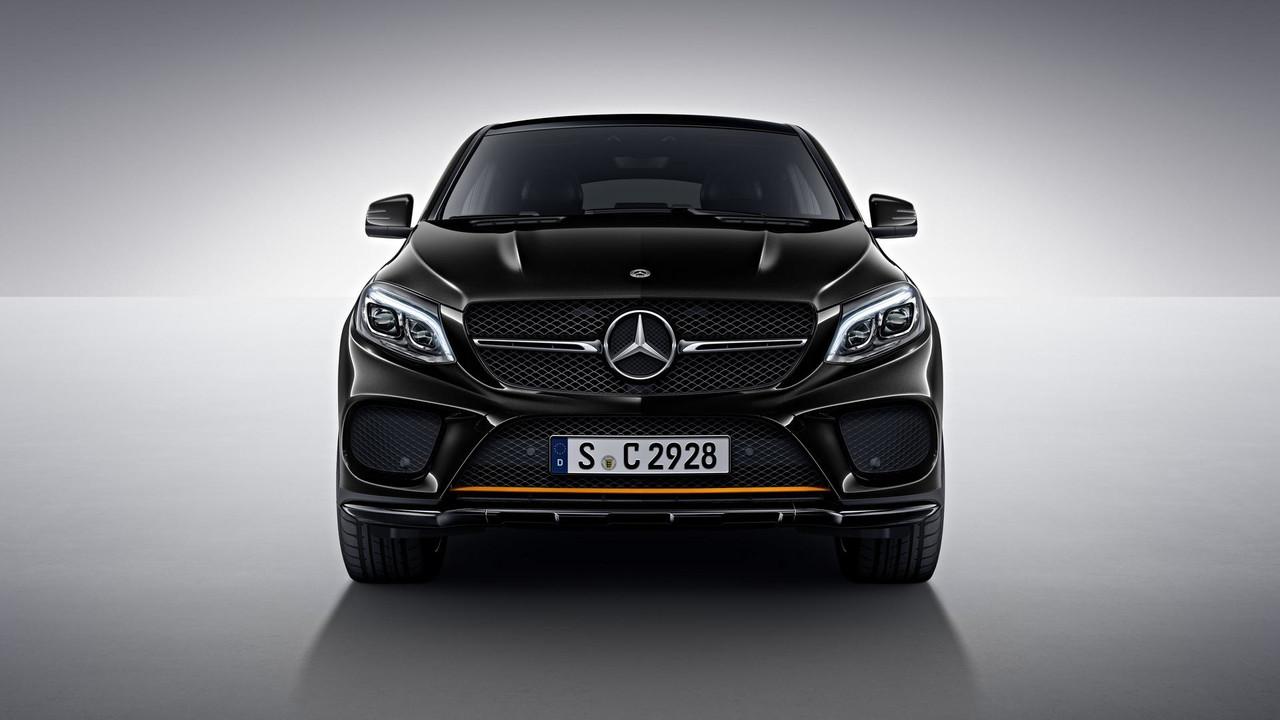 Mercedes GLE Coupe OrangeArt Edition