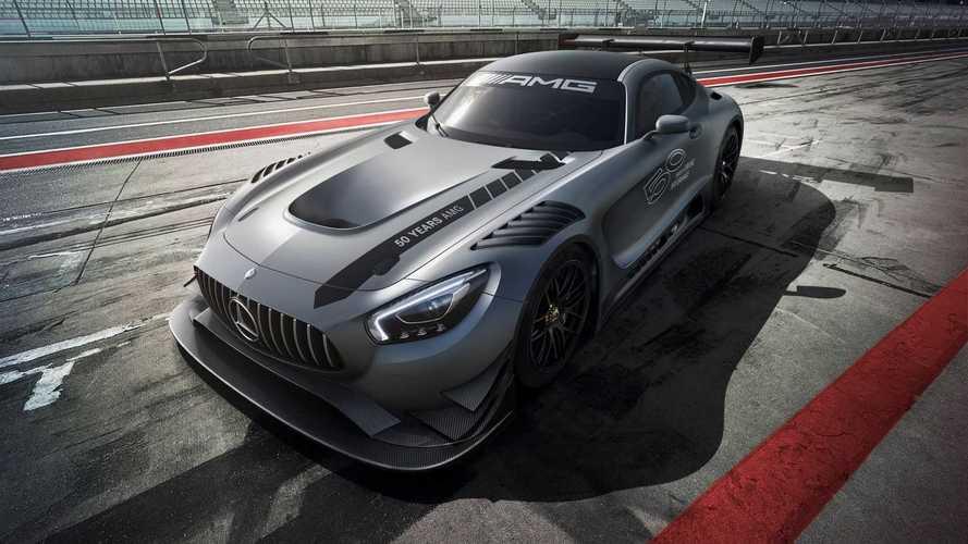 Mercedes-AMG GT3 Edition 50: el regalo de AMG por sus 50 años