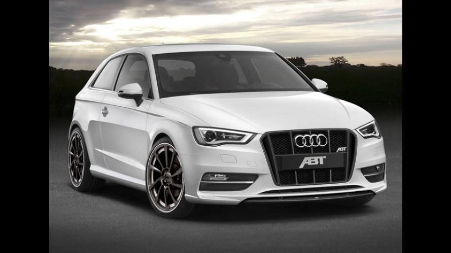 Novo Audi A3 AS3 preparado pela ABT é revelado