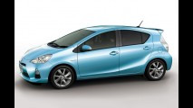 Toyota revela mais detalhes do híbrido Prius C, que estará no Salão de Tóquio
