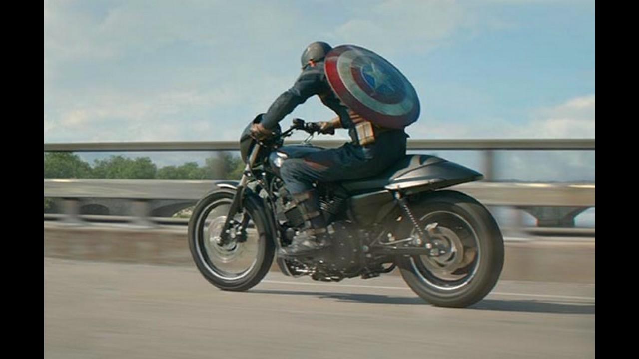 """Nova Harley-Davidson Street 750 marcará presença no longa """"Capitão América 2"""""""