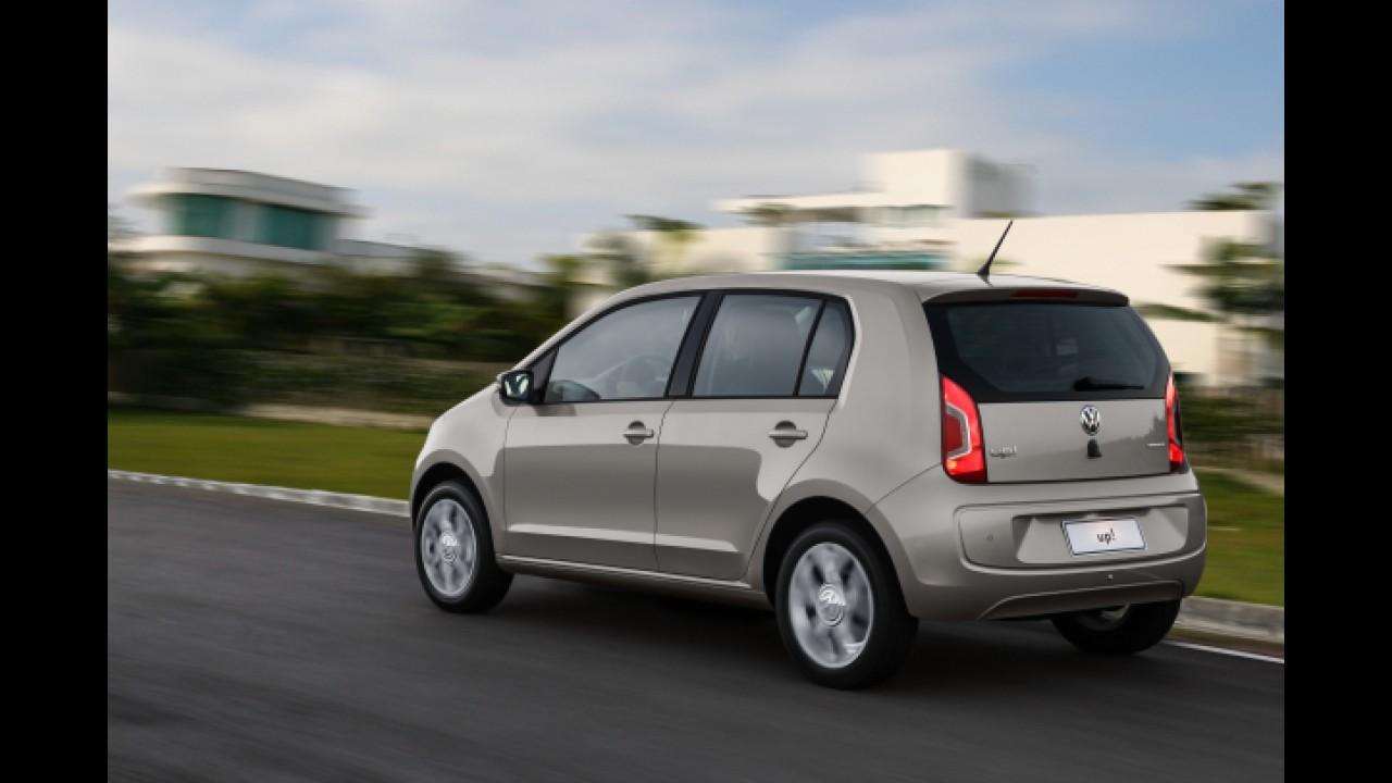 VW up! fica mais caro: parte de R$ 27.190 e chega a R$ 45,3 mil completo