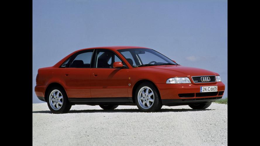 Audi A4, c'era una volta la 80