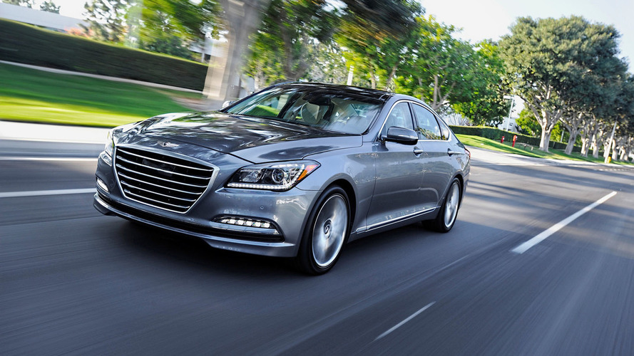 2016 Hyundai Genesis unveiled with new features & options