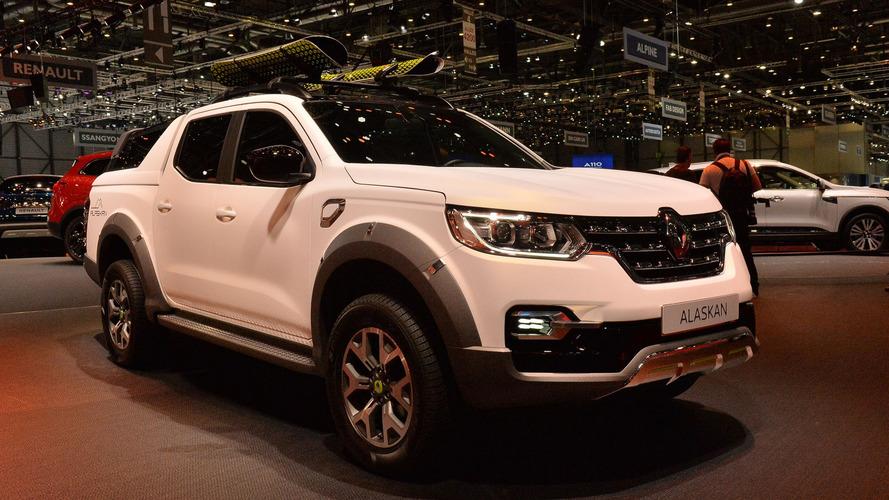 Renault'nun yeni pickup'ı Alaskan Cenevre'de tanıtıldı