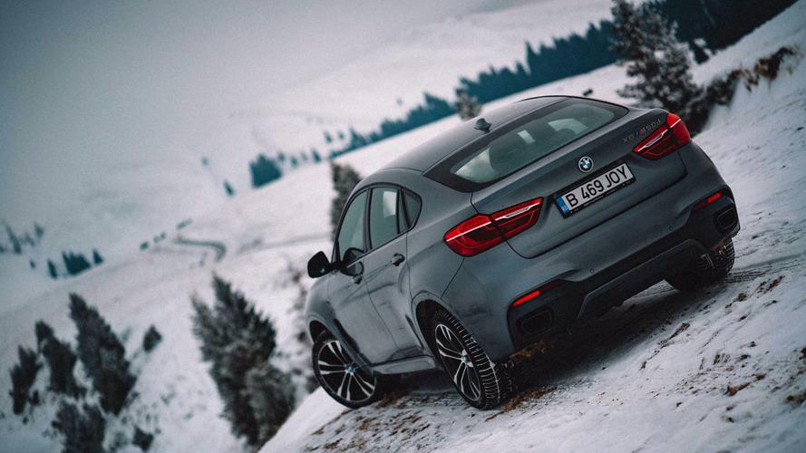 BMW X6 Romanya'yı fethediyor