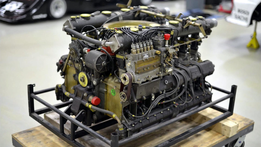 Canepa Rebuilds Porsche 917 Flat 12