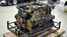 Reconstrucción del motor de un Porsche 917