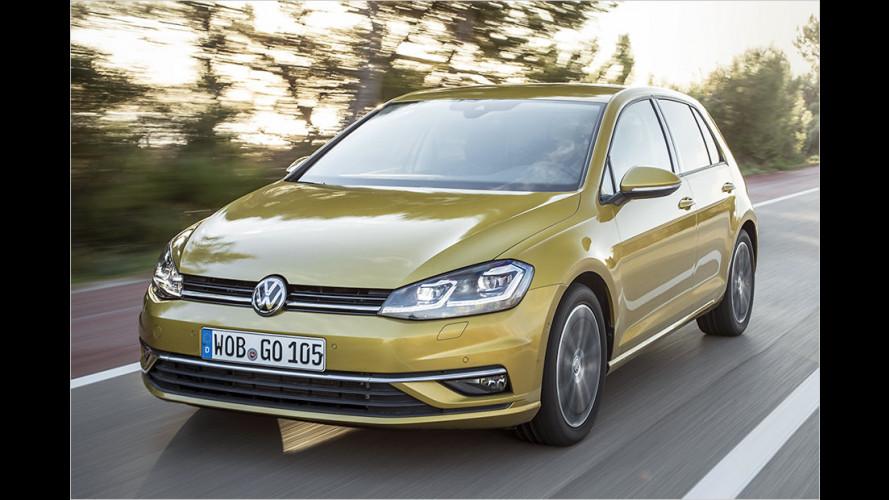 Gelifteter VW Golf mit neuem 1.5 TSI im Test