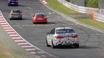 2018 BMW M5 Nürburgring casus fotoğrafları