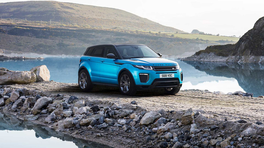 Kutlama versiyonu Land Rover Evoque Landmark Edition