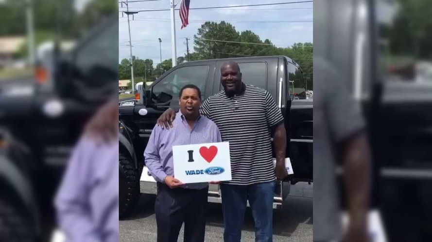Shaq's New Ford F-650 Extreme Costs A Cool $170K