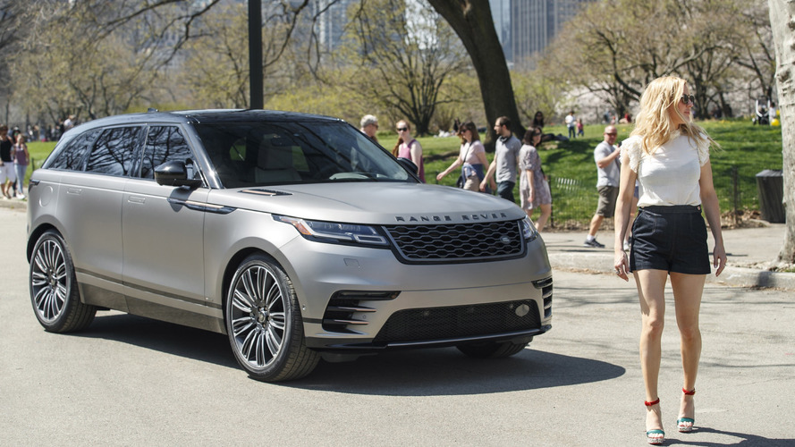 Range Rover Velar Makes U.S. Debut With Help From Ellie Goulding