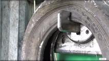 Máquinas de reciclagem de pneus