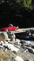 Ferrari F40 camping