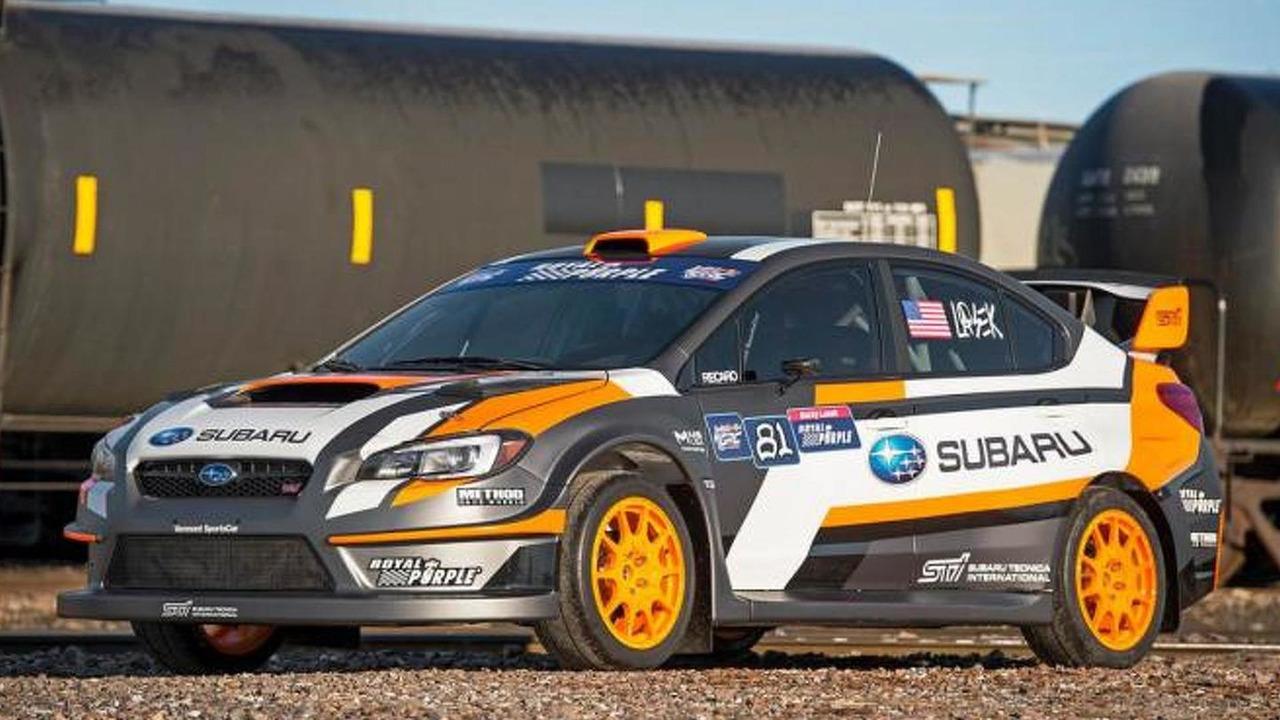 2015 WRX STI rallycross car
