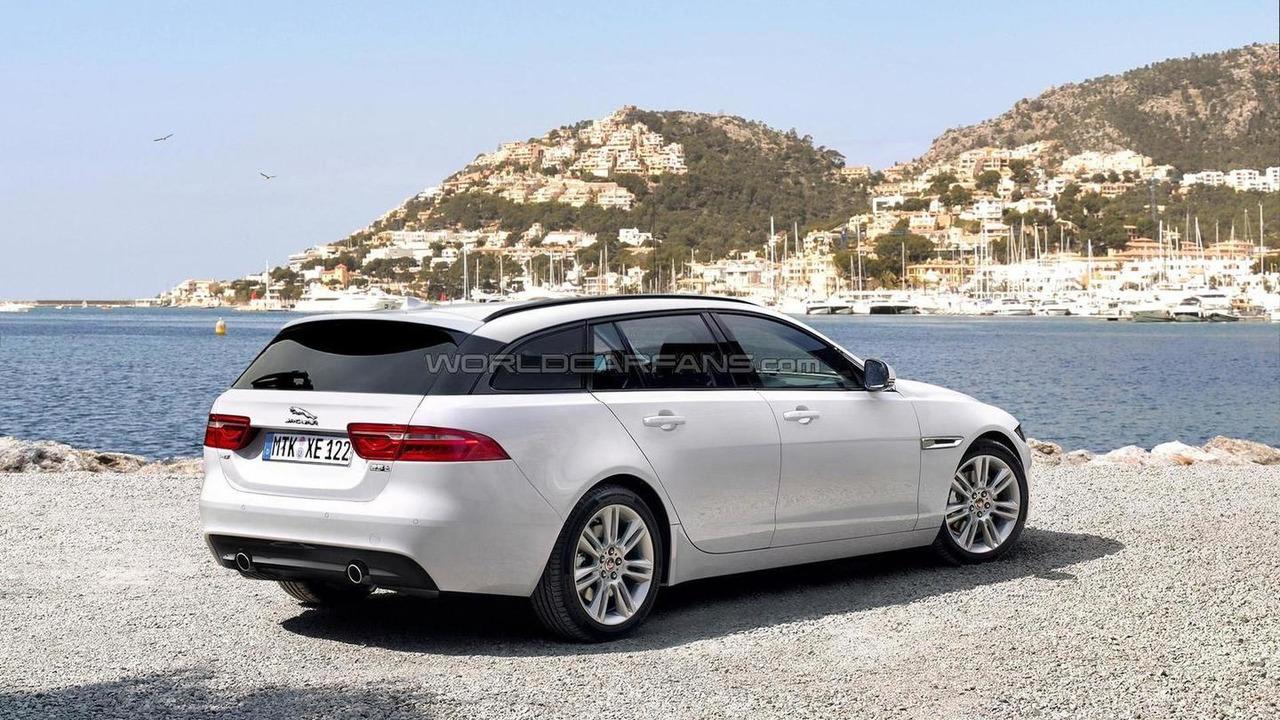 Jaguar XE Sportbrake render