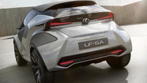 Lexus LF-SA concept shows its quirky styling in Geneva [videos]