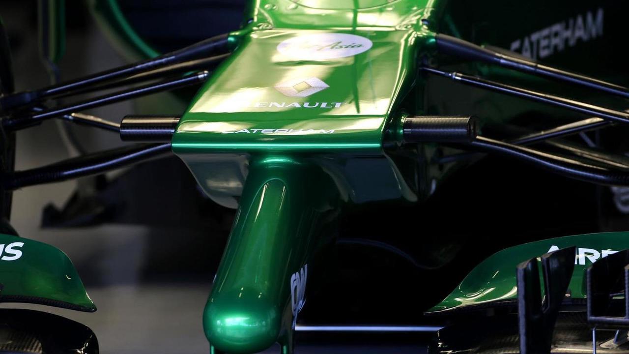 Caterham F1 Team front nose / XPB