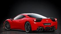 Ferrari 458 body styling by Vorsteiner 05.06.2012