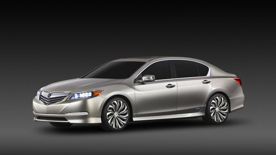2014 Acura RLX to debut at the L.A. Auto Show