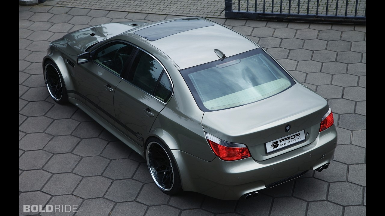 Prior Design BMW 5-Series Widebody