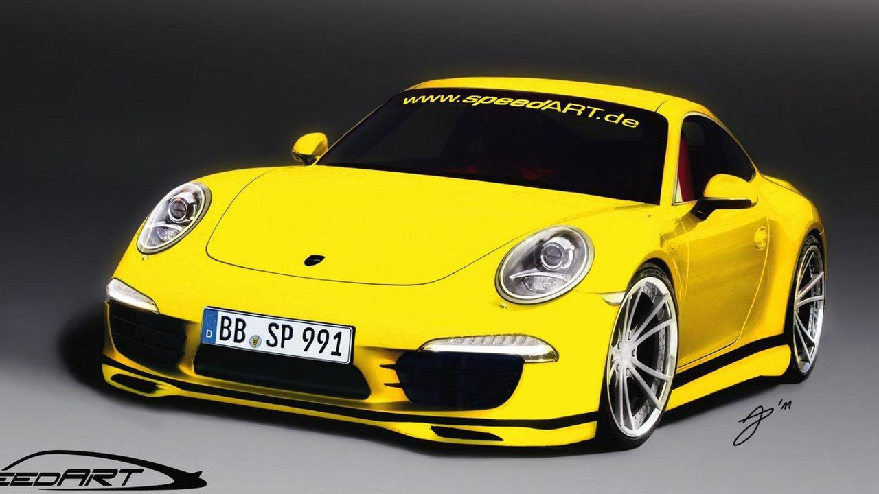 speedART SP91-R preview rendering based on Porsche 991 Carrera S 02.09.2011