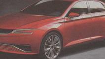 Seat IBL concept leaked - future Seat Toledo?