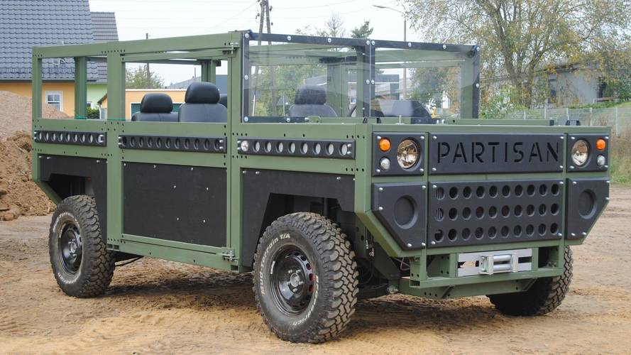 Partisan One Military SUV Puts Simplicity Above Looking Good