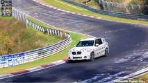 2019 BMW X3 M screenshots from spy video