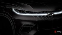Chery compact SUV teaser