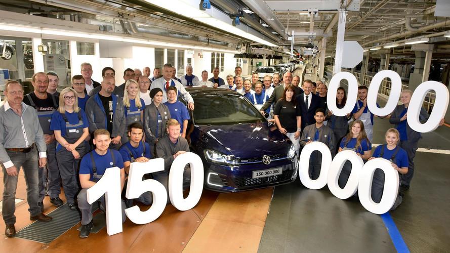 Volkswagen fabrica su coche 150 millones