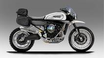 Futura Norton Scrambler bicilíndrica de 650cc