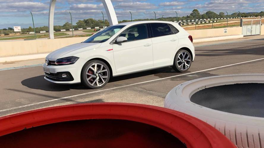 Watch the 2018 Volkswagen Polo GTI hit the track