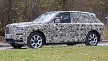 Rolls-Royce Cullinan nouvelles images espion