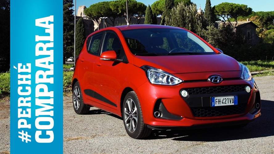 Hyundai i10, perché comprarla… e perché no [VIDEO]