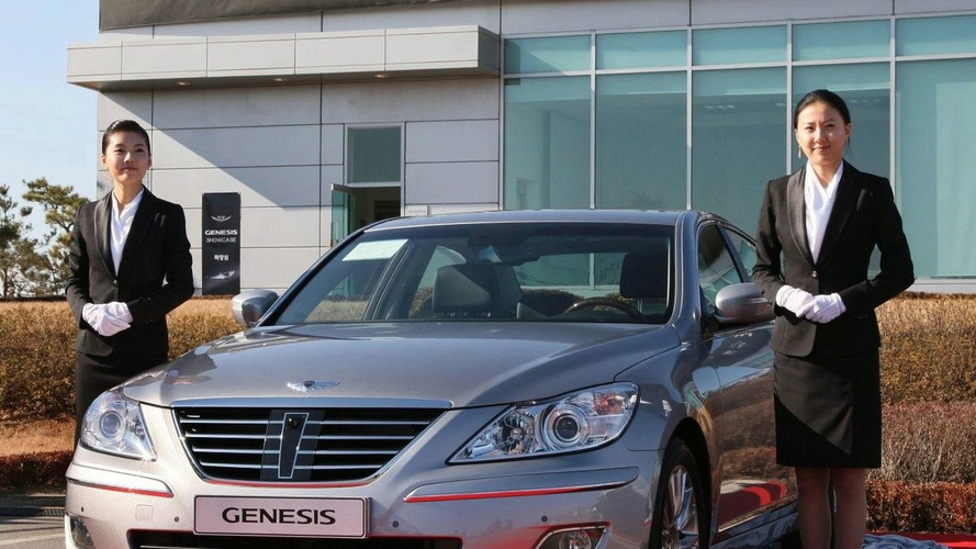 Hyundai Genesis Revealed in Korea