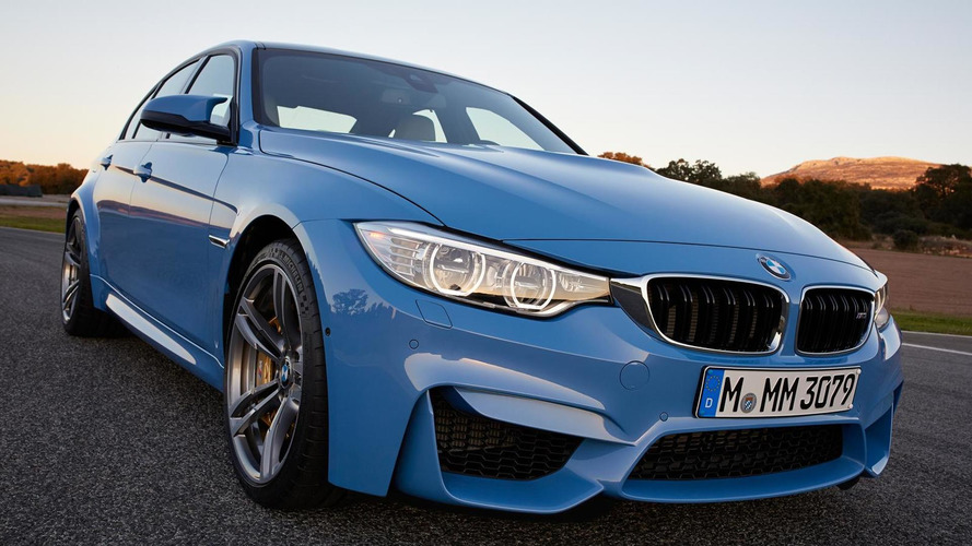 BMW M And M Pricing Announced US - 2015 bmw m3 sedan price