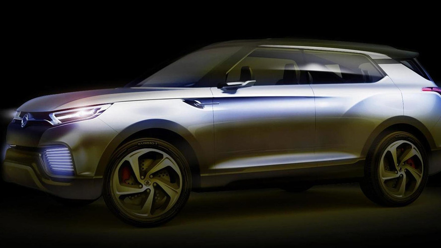 SsangYong previews XLV concept, debuts next month in Geneva