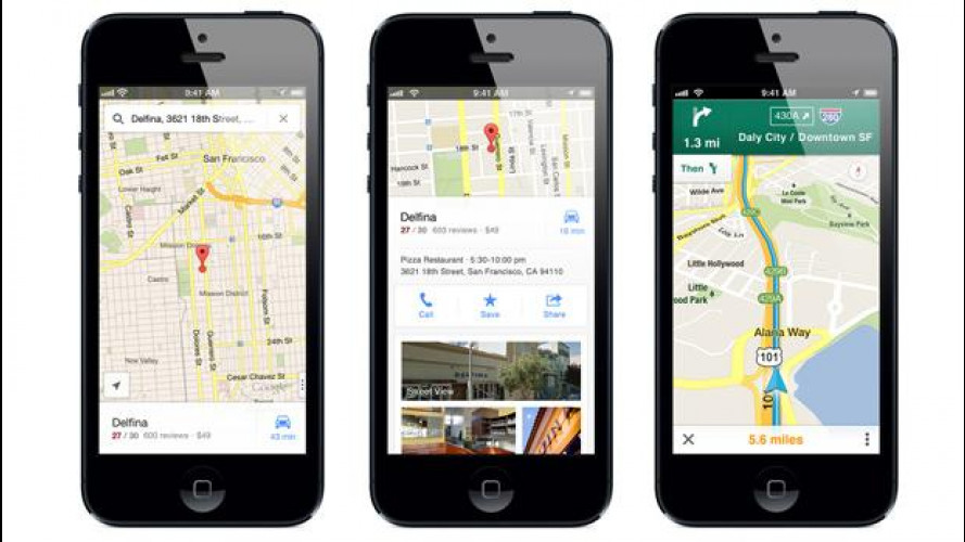 Le Google Maps tornano su iPhone