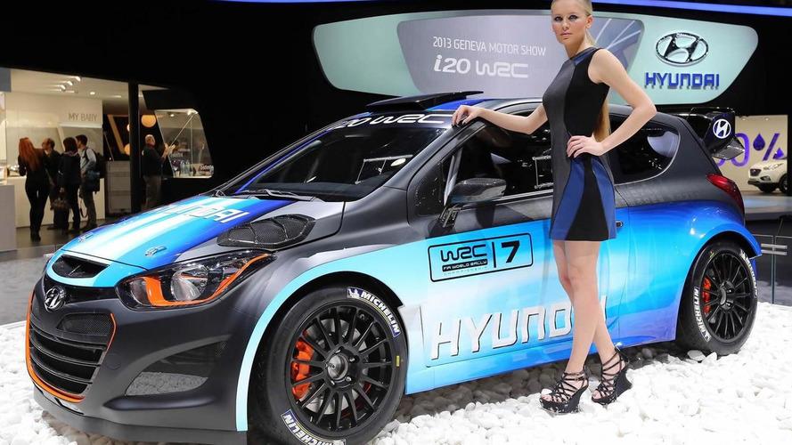 Hyundai updates i20 WRC for Geneva