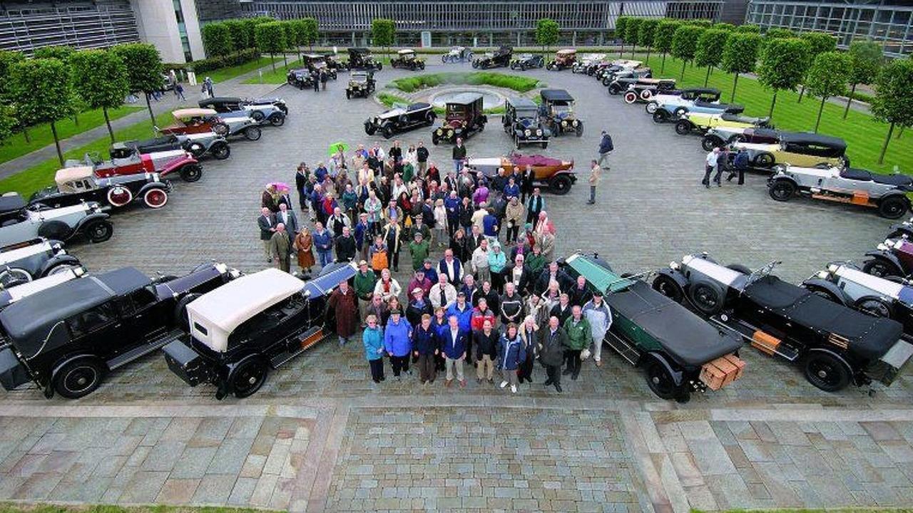 Rolls Royce Silver Ghost Centenary Celebration
