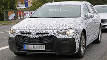 2017 Opel Insignia wagon spy photos