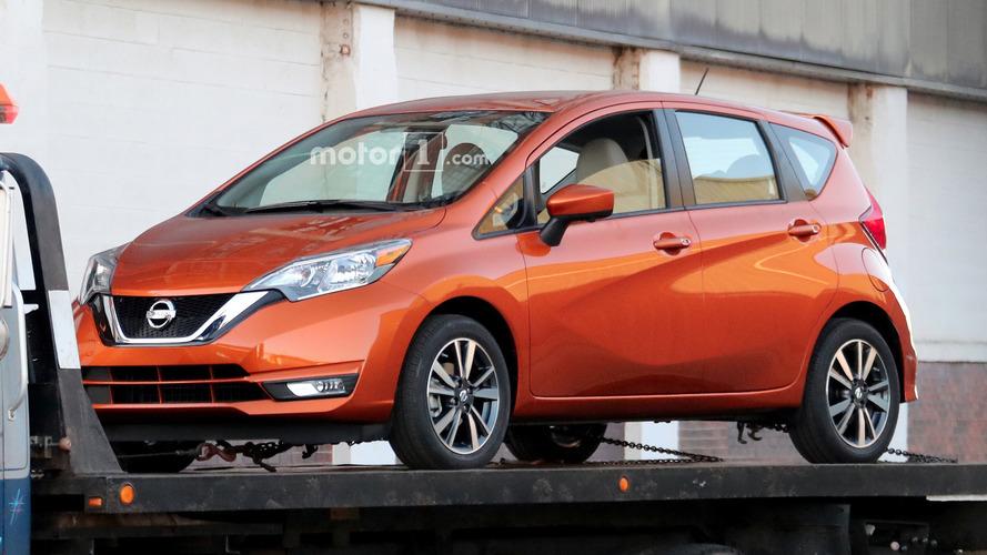 Makyajlı 2017 Nissan Versa Note kamuflajsız görüntülendi