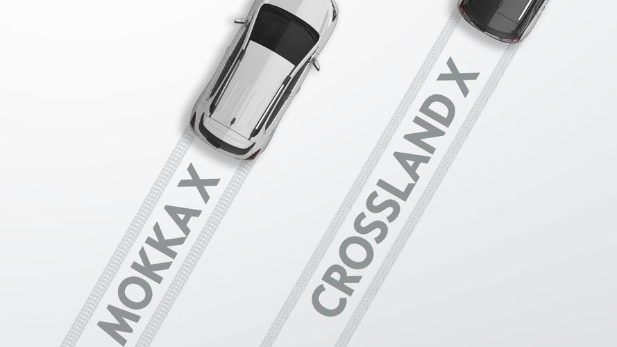 Le futur SUV d'Opel s'appellera Crossland X