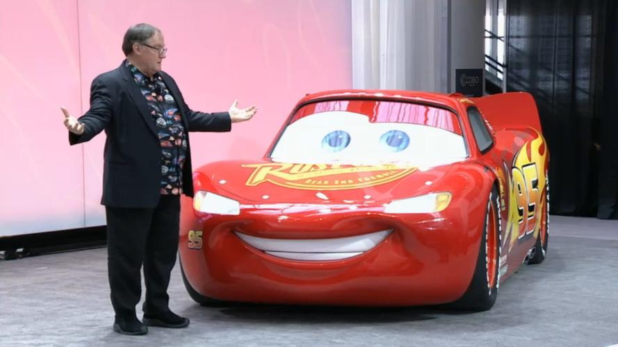 Détroit 2017 - Cars 3 fait son apparition en taille réelle