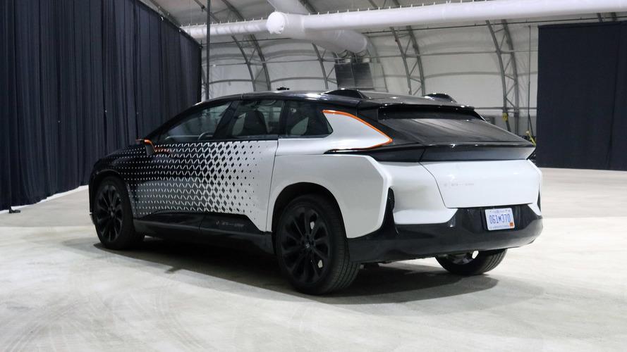 Faraday Future FF 91 Prototype Ride-Along