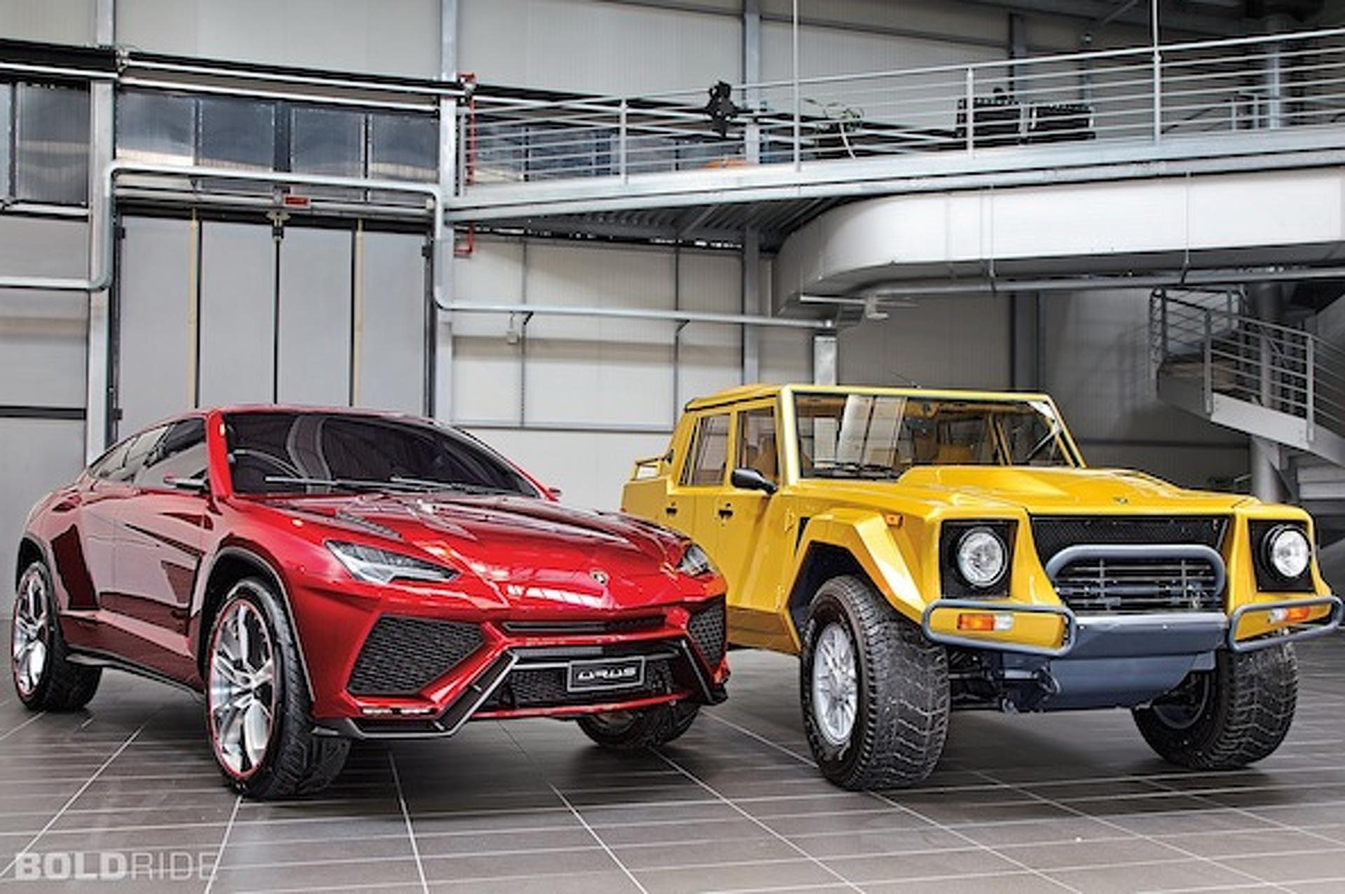 Lamborghini Urus SUV Concept at 2012 Beijing Auto Show - Front ...