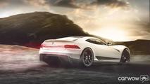 Tesla Model R rendering by CarWow