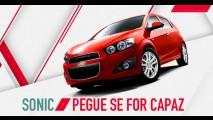 Que tal ganhar o primeiro Chevrolet Sonic do Brasil?